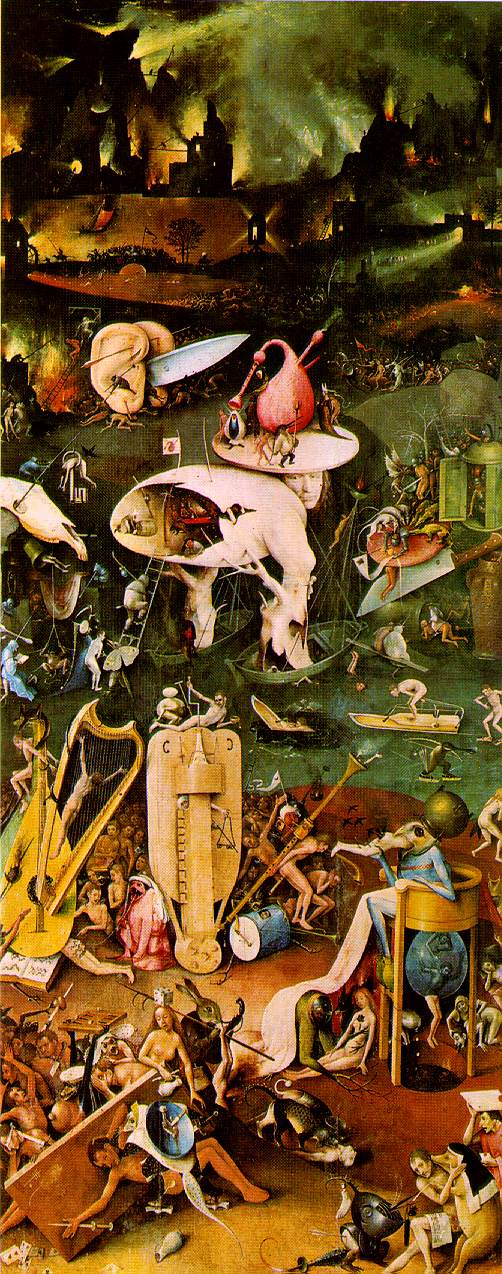 Bosch Hell from Garden