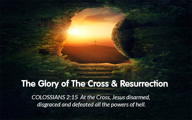 Glory of the cross slider