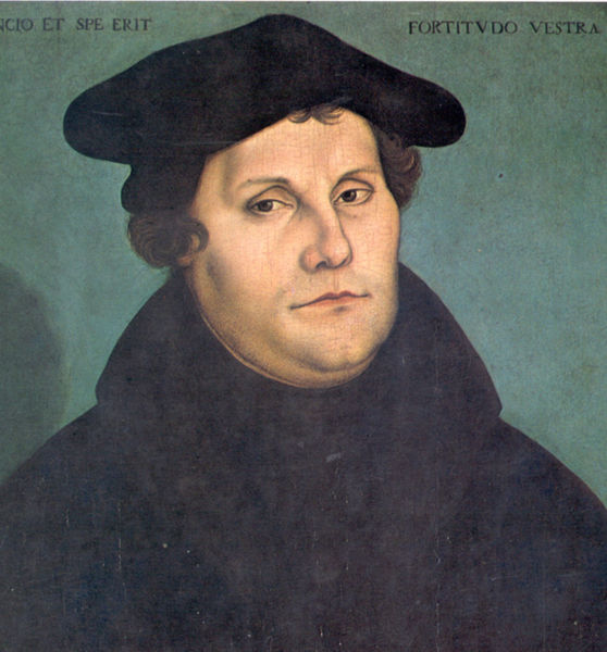 Luther by Lucas Cranach